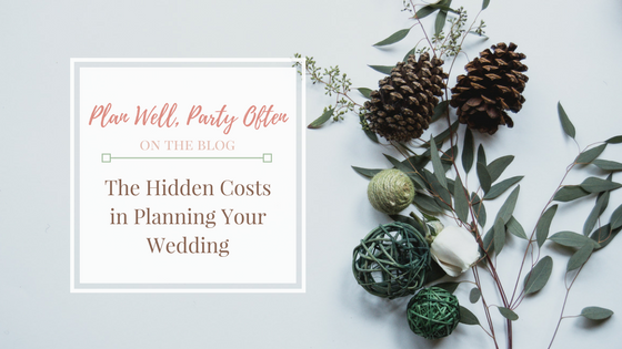 Hidden Costs Planning Your Wedding, Atlanta Certified Wedding Planner, Atlanta Wedding Coordinator