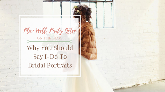 Why You Should Take Bridal Portraits