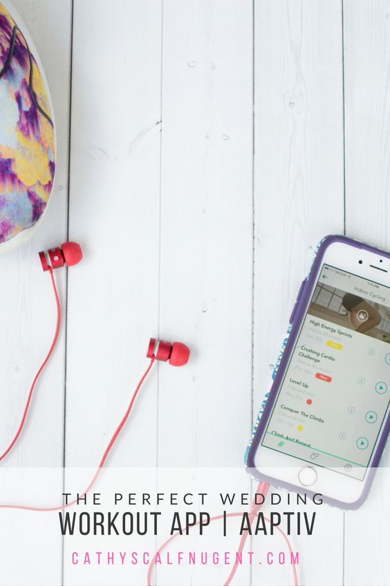 The Perfect Wedding Workout App, Aaptiv