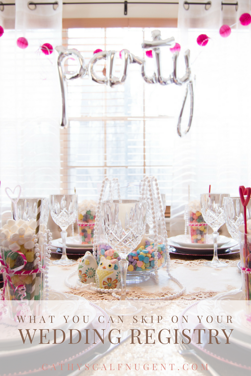 What You Can Skip on Your Wedding Registry, Atlanta Certified Wedding Planner