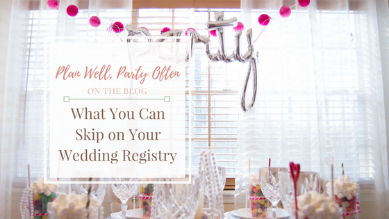 What You Can Skip On Your Wedding Registry A Hosting Home