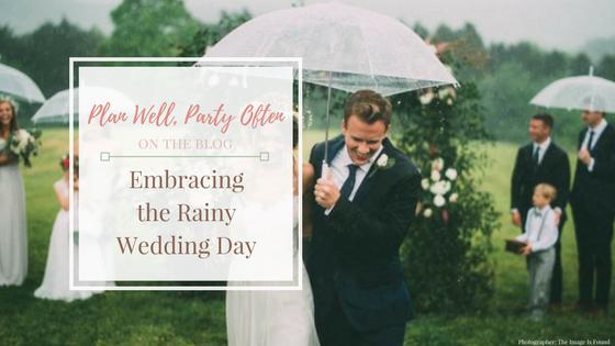 Embracing the Rainy Wedding Day, Rainy Wedding Day Inspiration