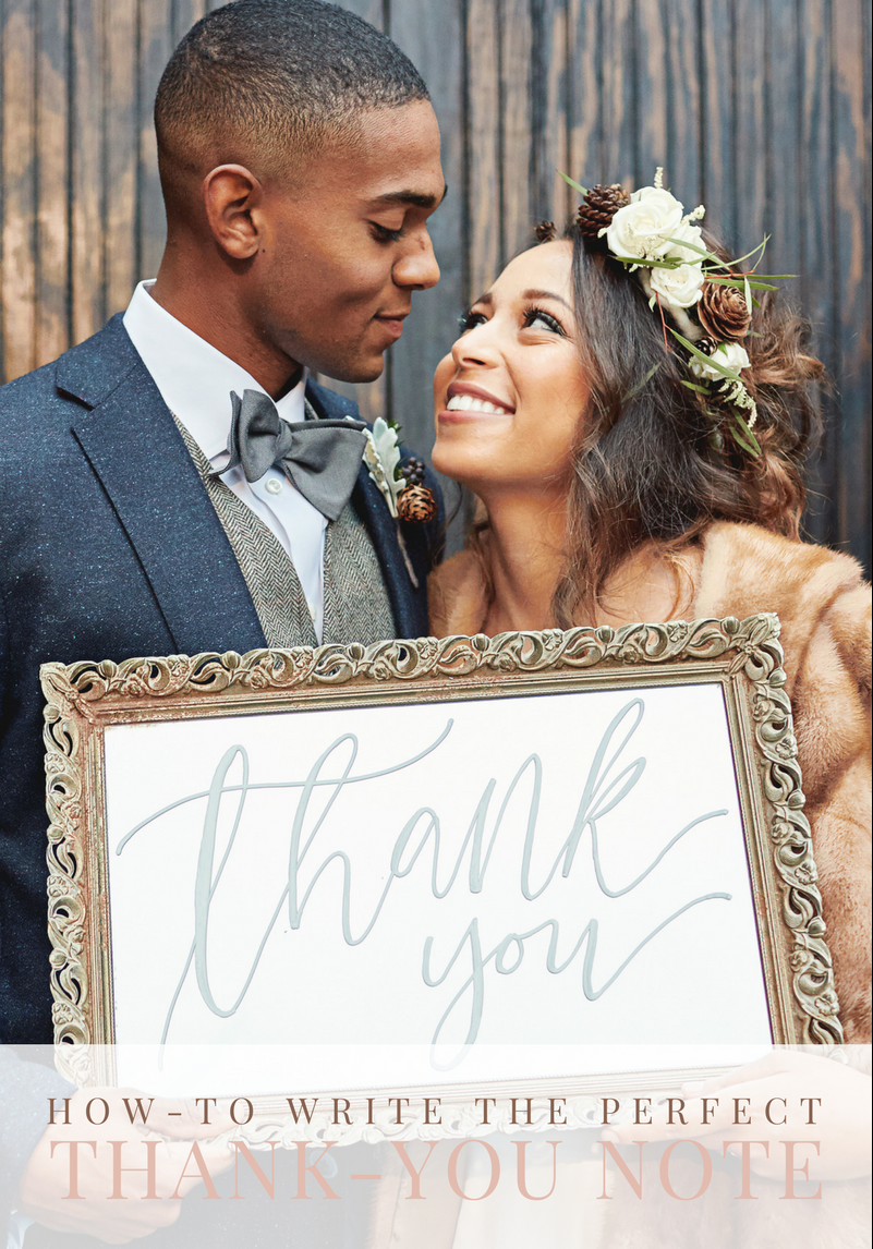 How-to Write the Perfect Wedding Thank-You Note