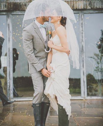 Tips for Embracing the Rainy Wedding Day
