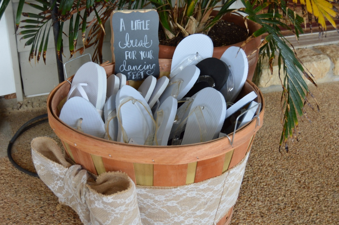 Summer Wedding Ideas, Summer Wedding Inspiration, Wedding Flip-flops