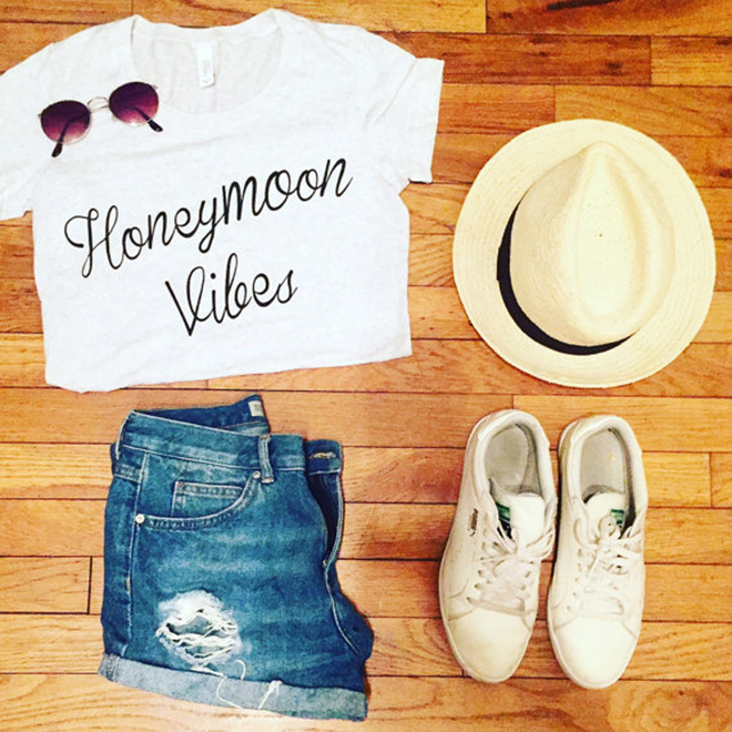 Honeymoon Packing Essentials, Honeymoon Vibes Tee