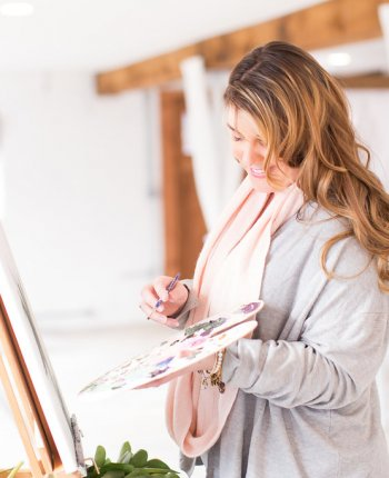 Live Painting is the New Wedding Trend You're Going to Love