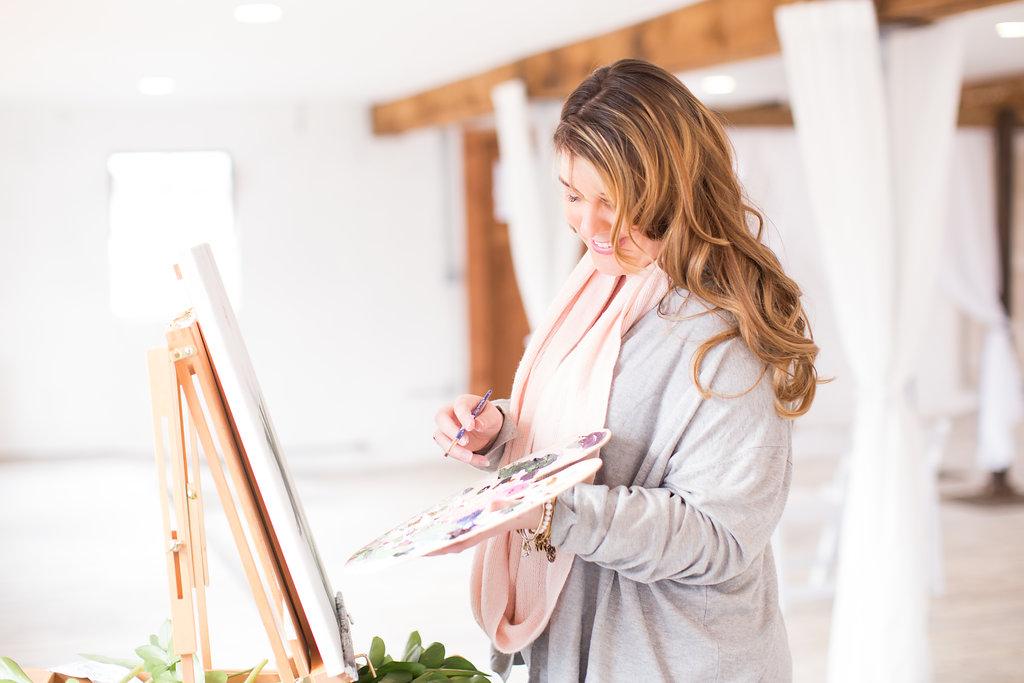 Wedding Artist Brittany Branson