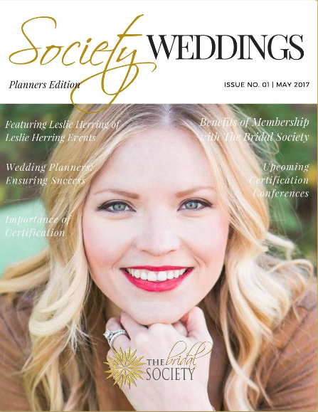 Society Weddings Magazine ; Cathy Nugent Weddings Feature