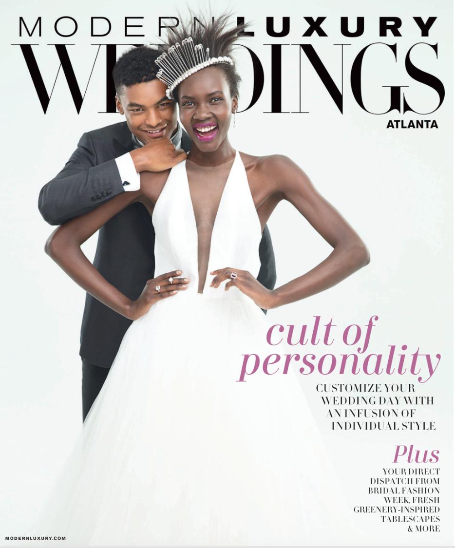 Modern Luxury Weddings Atlanta Cathy Nugent Weddings Feature