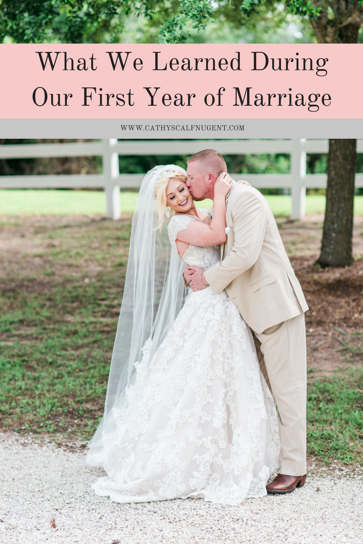 What We Learned Our First Year of Marriage ; Atlanta Married Lifestyle Blogger ; Charlotte Married Lifestyle Blogger