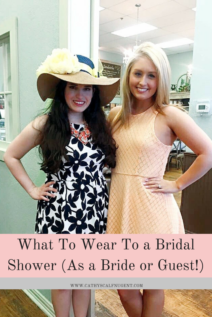 what to wear to a bridal shower as a guest what to wear to a