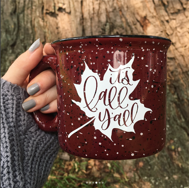 Fall Favorites with Fall Mugs from Jenna Kast Studio