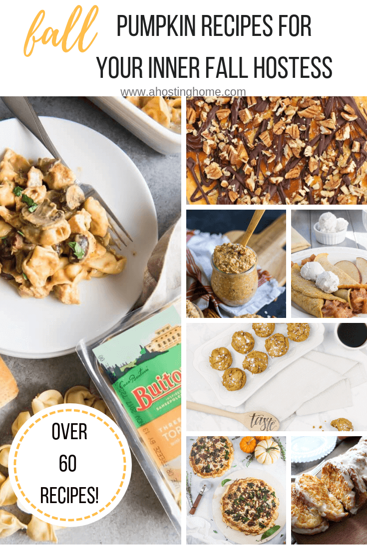Fall Pumpkin Recipes To Make Your Inner Fall Hostess Dreams Come True // A Hosting Home