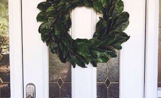 DIY Magnolia Wreath Tutorial // A Hosting Home, Atlanta Lifestyle and Home Blogger Cathy Nugent