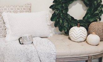 DIY Magnolia Wreath Tutorial, Farmhouse Decor Inspiration + What I'm Shopping For // A Hosting Home, Atlanta Lifestyle and Home Blogger Cathy Nugent