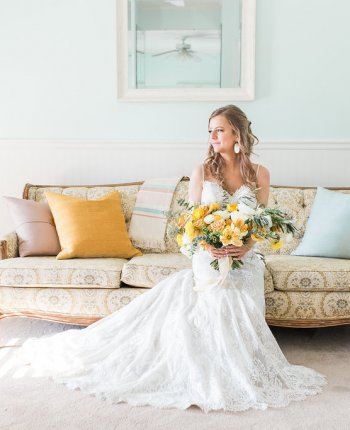 Sweet as Honey Southern Wedding Inspiration // The Barn at Oak Manor Styled Shoot