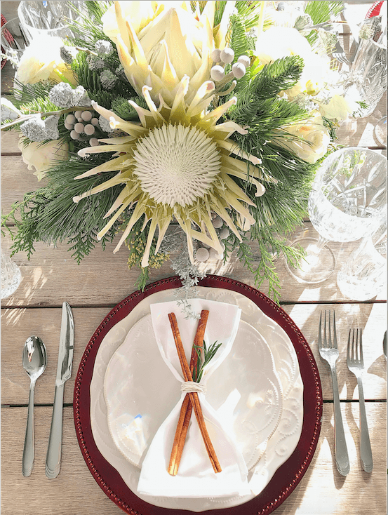 Introducing #AHostingHome + Holiday Home Tour, Simple Farmhouse Thanksgiving Tablescape