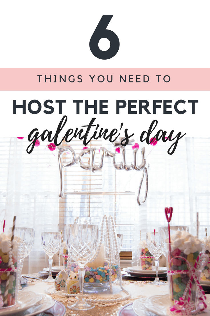 How-To Host The Perfect Galentine's Day Brunch Party With Your Girls // Galentines Day Brunch Inspiration