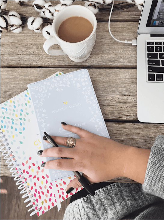 Cultivate What Matters Write the Word Journal and Powersheets Goal Planner // Winter 2018 Favorite Products // Atlanta Lifestyle Blogger