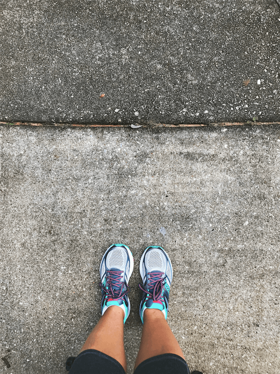 Saucony Running Shoes // Winter 2018 Favorite Products // Atlanta Lifestyle Blogger