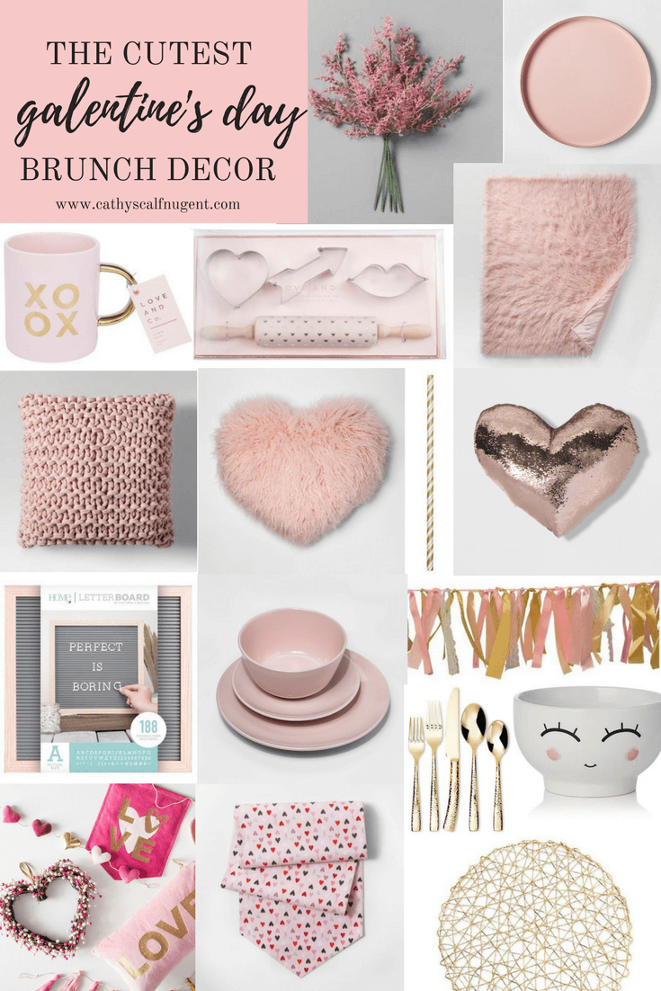The Cutest Galentine's Day Brunch Decor from Target / Galentines Day Party Inspiration