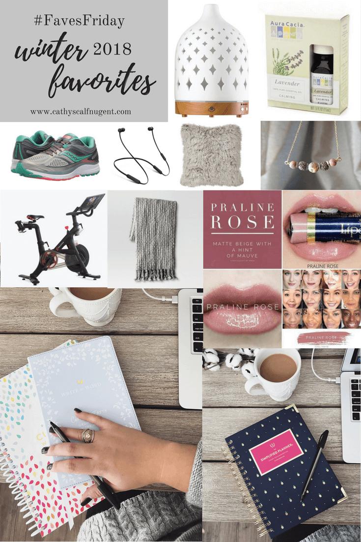 Winter 2018 Favorite Products // Atlanta Lifestyle Blogger
