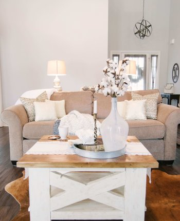Handcrafted Farmhouse Coffee Table