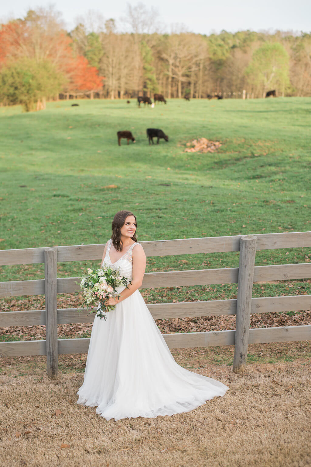 Classic Southern Wedding Inspiration // The Wright Farm Wedding Styled Shoot // West Georgia Certified Wedding Planner