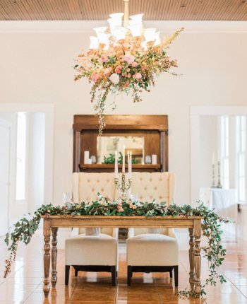 Romantic Springtime Wedding Inspiration // The McGarity House Wedding Styled Shoot