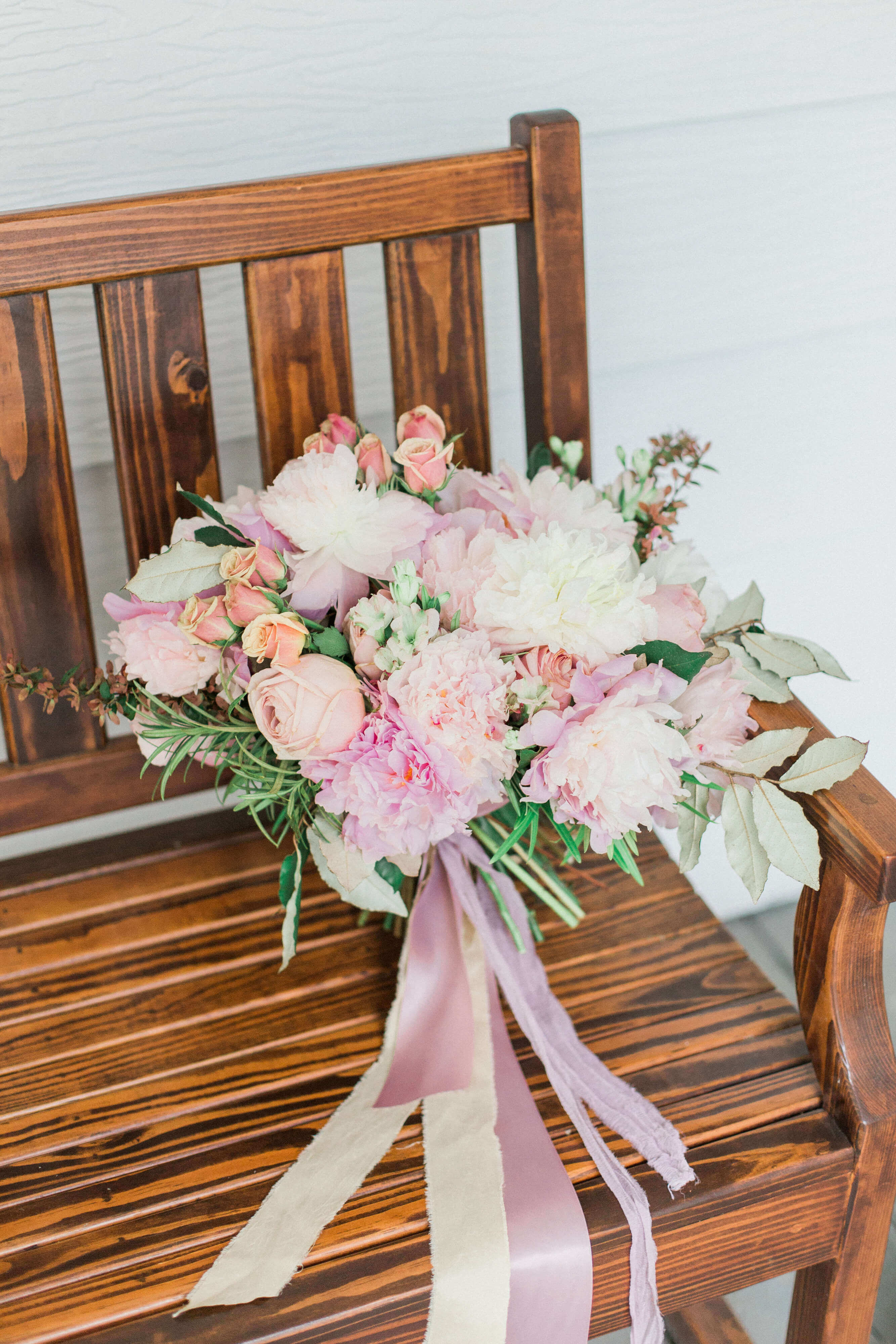 Romantic Springtime Blush Wedding Inspiration // The McGarity House Wedding Styled Shoot