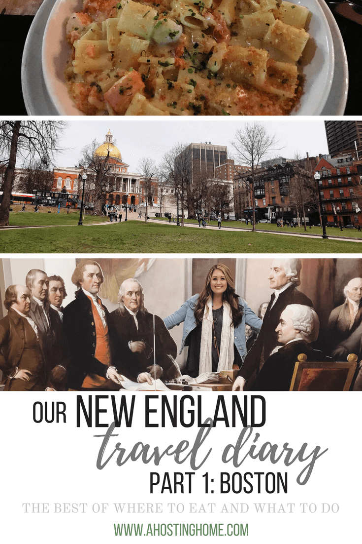 Our New England Travel Diary // Weekend in Boston, Massachusetts Travel Diary // The Best of Where to Eat and What to Do For A Weekend in Boston Pinterest