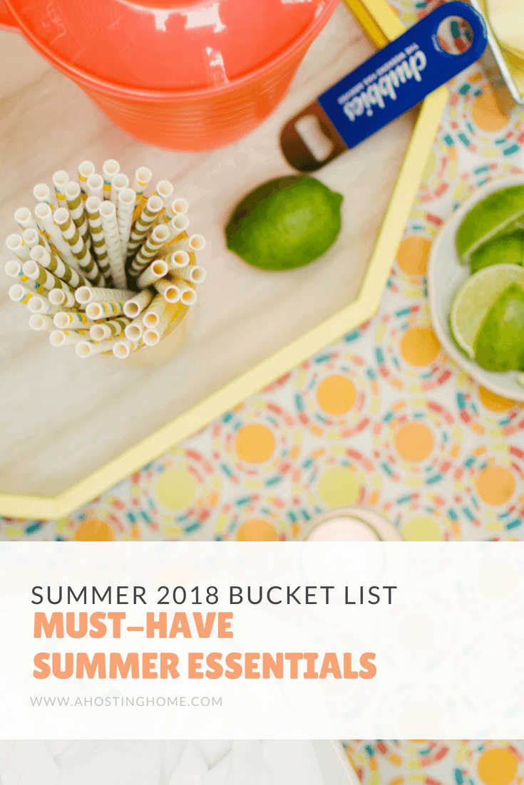 Must-Have Summertime Essentials for Summer 2018 // Summer 2018 Favorite Products
