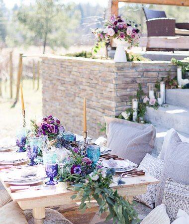 Pantone Inspired Ultra Violet Bohemian Wedding Inspiration // A Hosting Home // Bear Claw Vineyards Wedding Styled Shoot // Atlanta Certified Wedding Planner