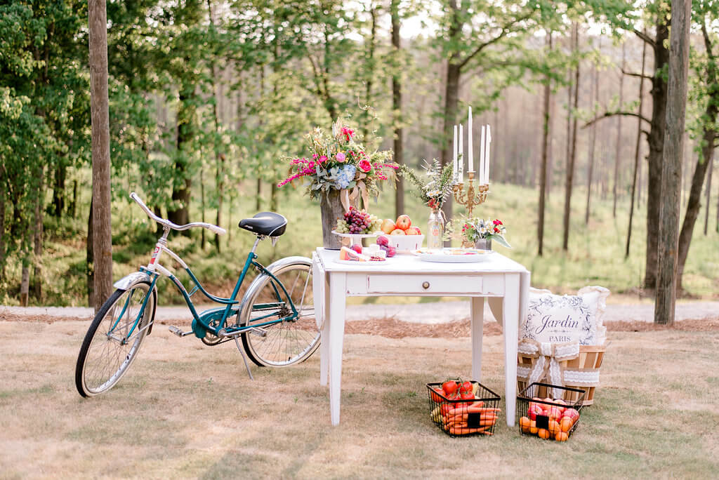French Country Farmer's Market Southern Wedding Inspiration at The Shed at Westover Farms // West Georgia Wedding Planner // Atlanta Wedding Planner