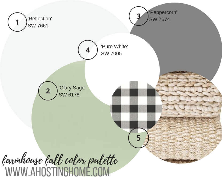 The Easy Way to Create a Fall Color Palette For Your Home // Fall Color Palette for Home