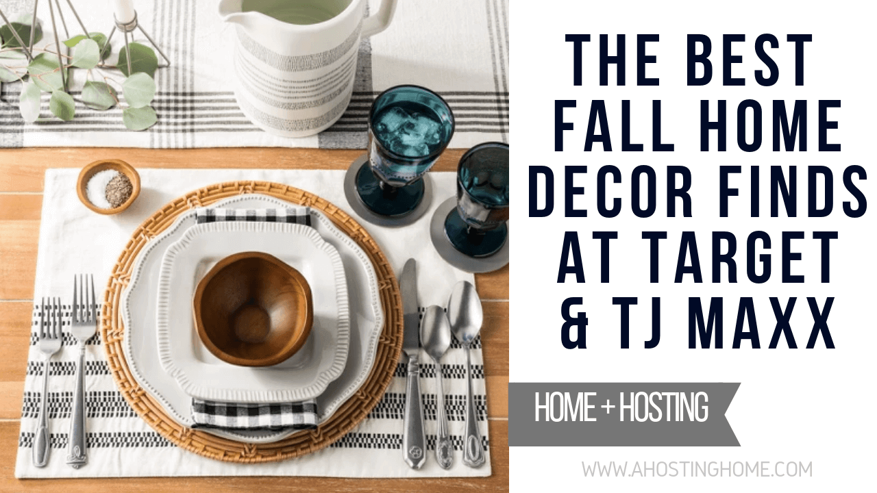 The Best Fall Home Decor Finds at Target and TJMAXX Online