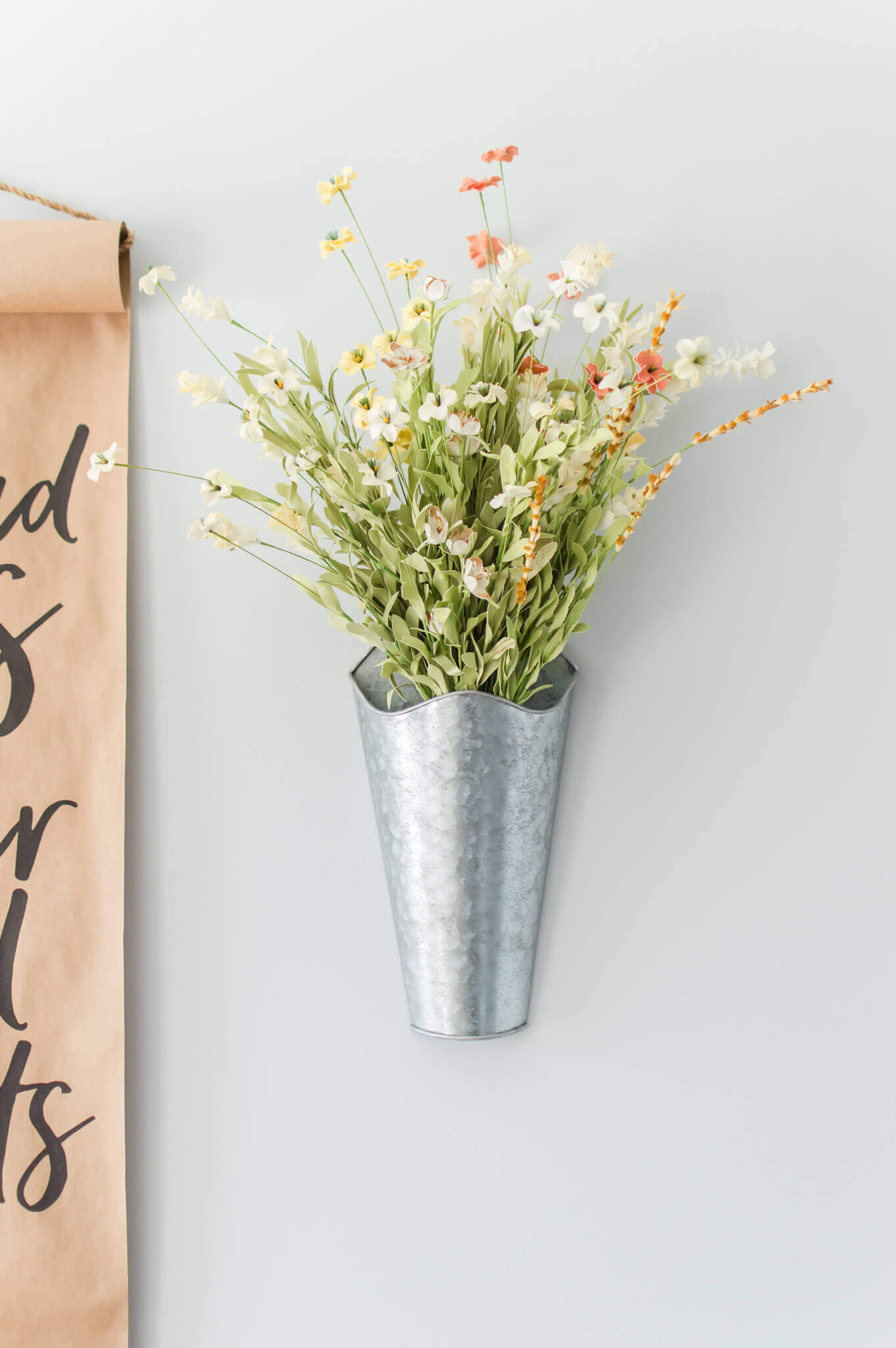 Tips for Decorating with Faux Floral / A Hosting Home Blog