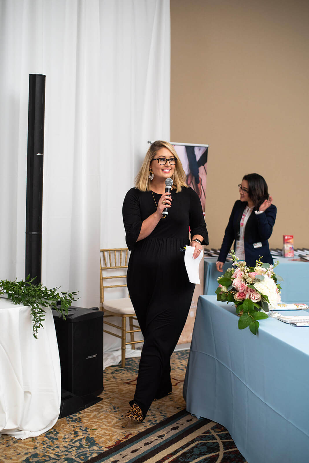 Cathy Nugent of A Hosting Home Speaking at The Bridal Society Annual Conference
