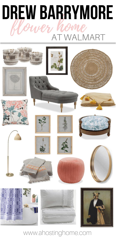 Drew Barrymore Flower Home at Walmart / A Hosting Home Blog