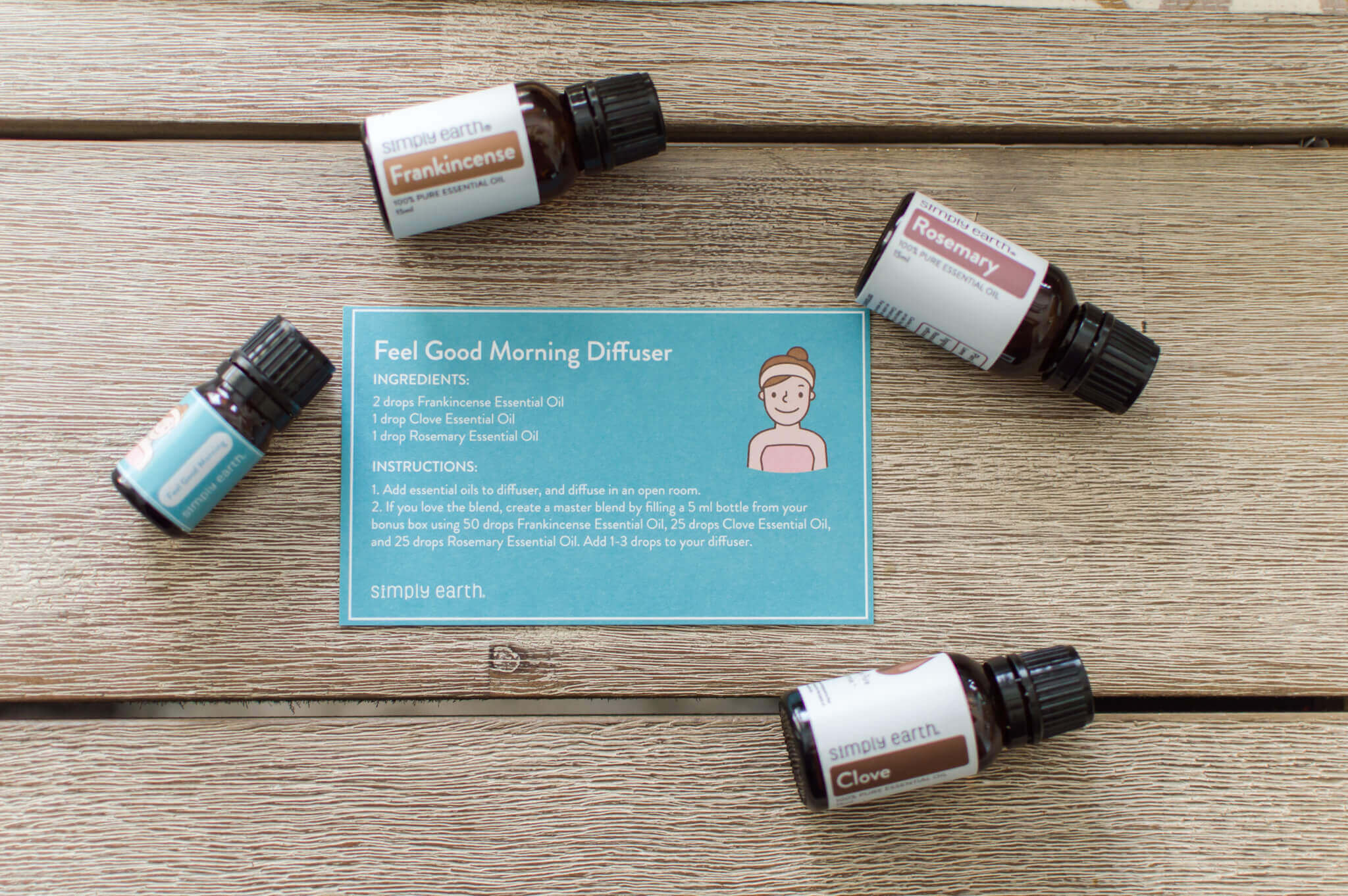 August Simply Earth Essential Oil Recipe Box // A Hosting Home Blog