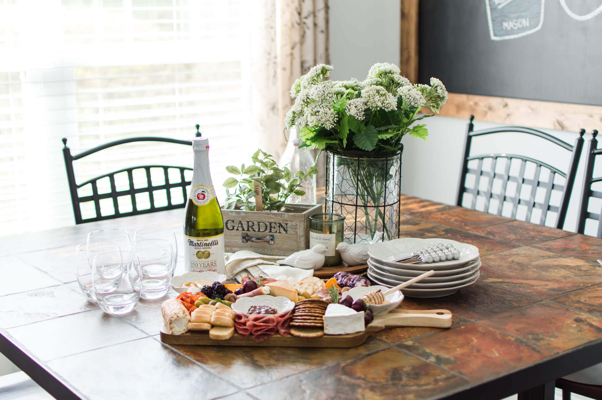 How To Make An Epic Charcuterie Board / A Hosting Home Blog