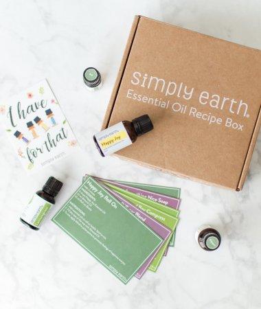 Simply Earth September Essential Oil Recipe Box / A Hosting Home Blog