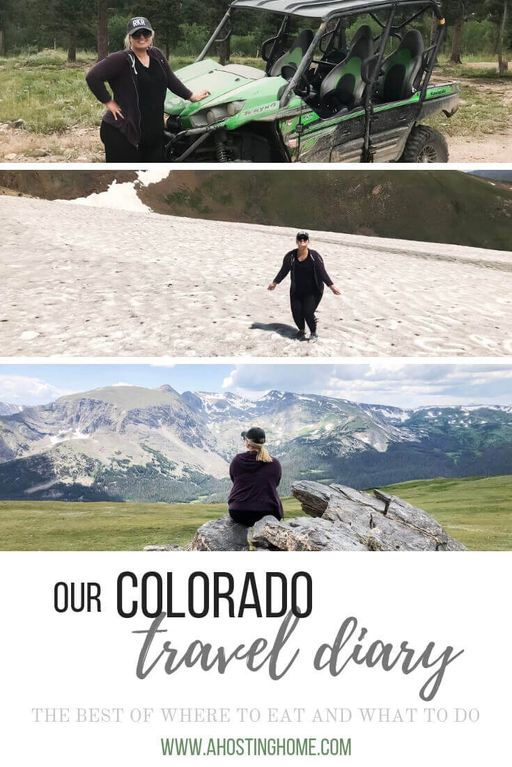 Our Colorado Travel Diary / A Hosting Home Blog