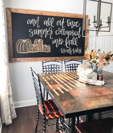 The Best of Fall Home Decor at Target PIN / A Hosting Home Blog