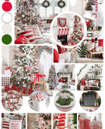 Cozy Christmas Design Inspiration / How-to Come up with Your Christmas Decorating Theme / A Hosting Home Blog