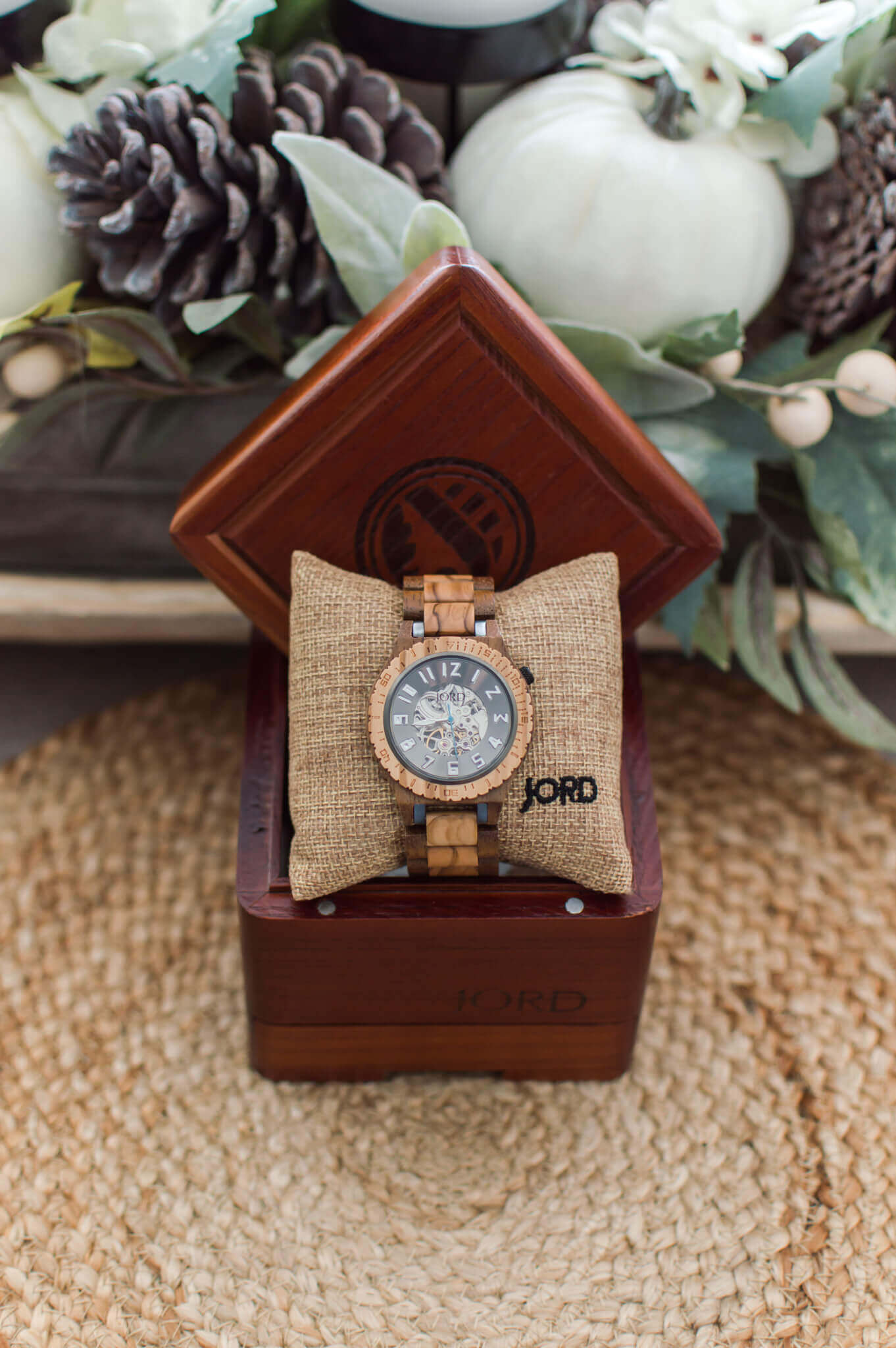 JORD Wood Watches and Giveaway / A Hosting Home Blog