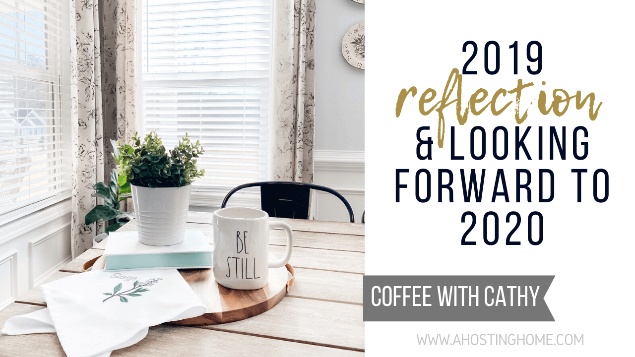 2019 Reflection and Looking Forward to 2020 / A Hosting Home Blog