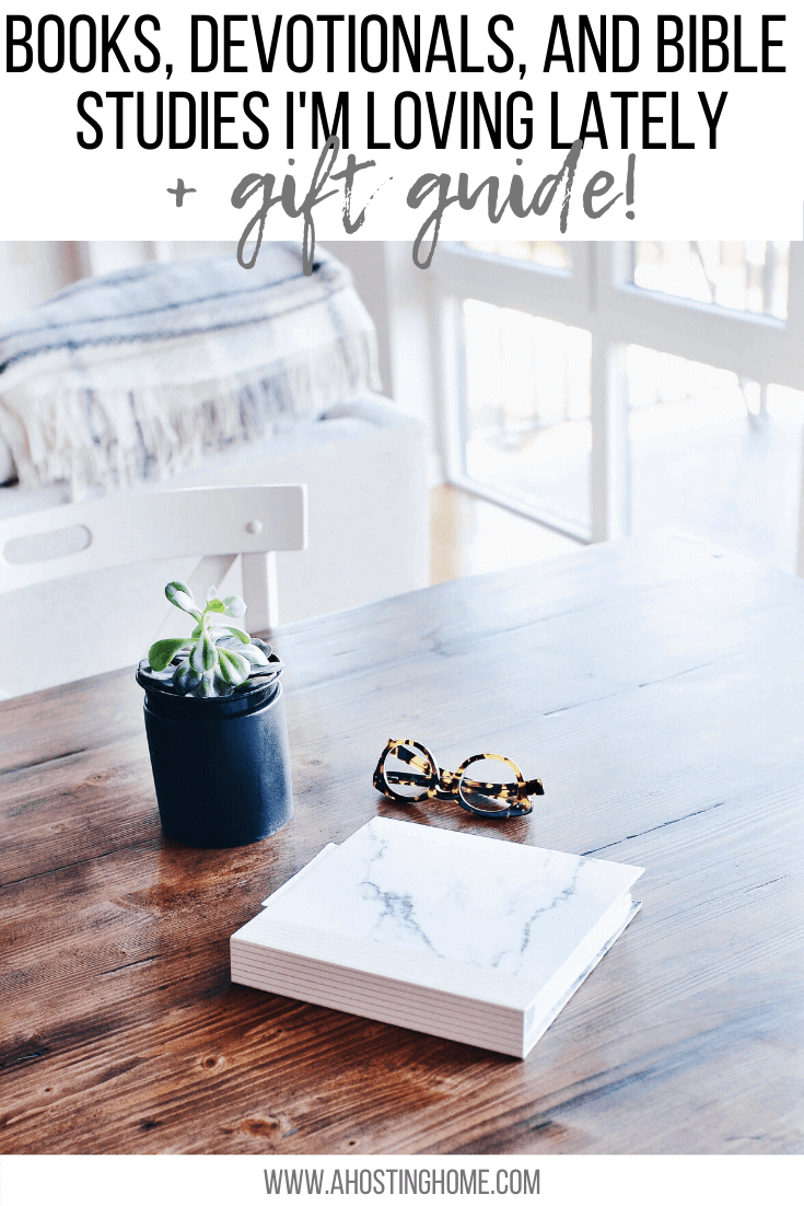 Books I'm Loving Lately (Christmas Gift Guide) / A Hosting Home Blog