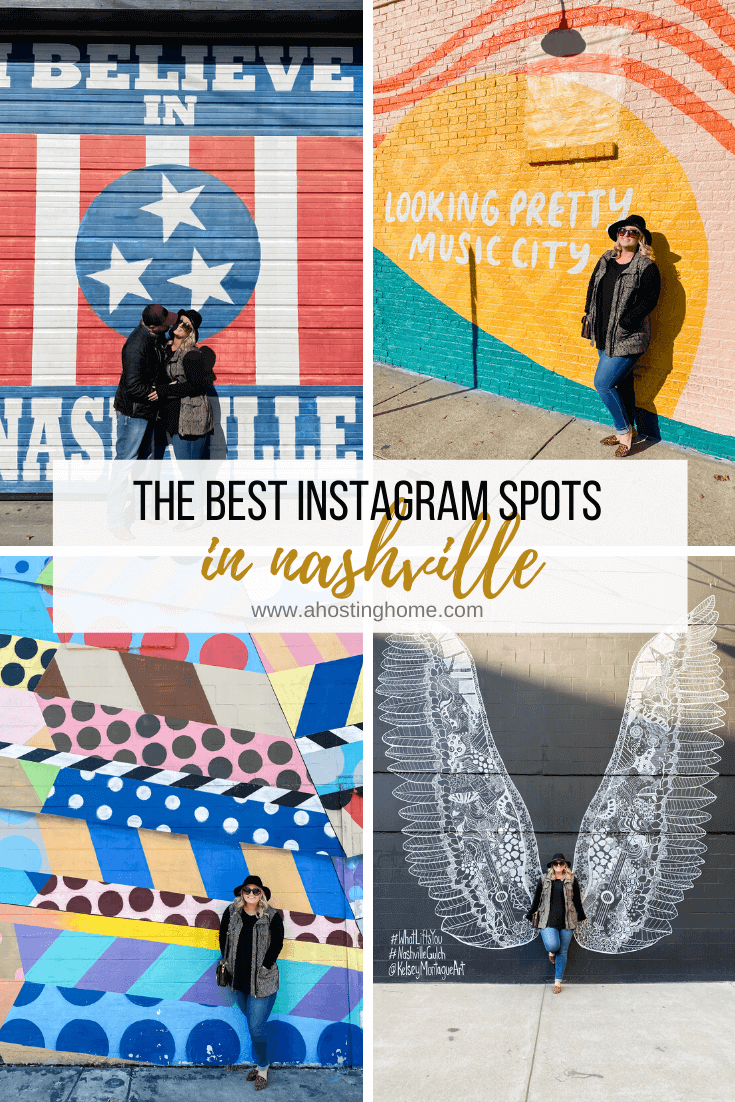 The Best Instagram Spots in Nashville / Nashville Murals / A Hosting Home Blog